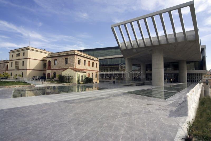 Het nieuwe Museum van de Akropolis, Athene, Griekenland stock afbeeldingen