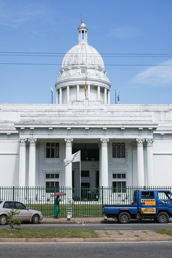 Het nieuwe Stadhuis in Colombo, Sri Lanka stock foto