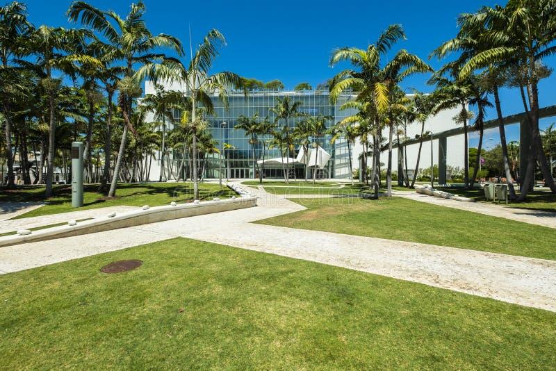 Het nieuwe Strand van Miami van het Wereldcentrum stock foto's