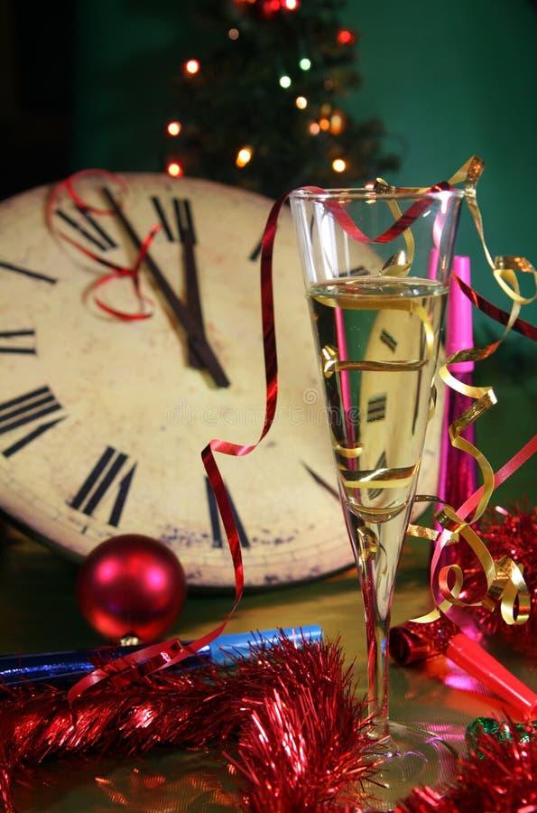 Het nieuwjaar komt royalty-vrije stock fotografie