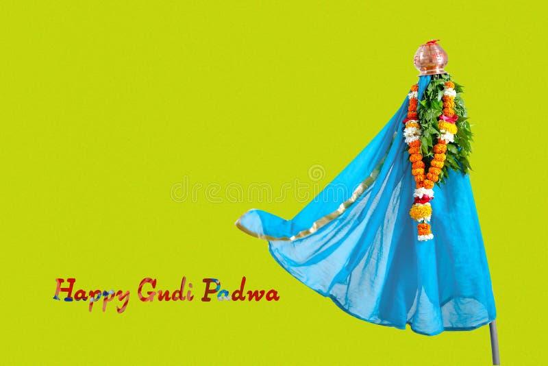 Het Nieuwjaar van Gudipadwa Marathi royalty-vrije stock foto