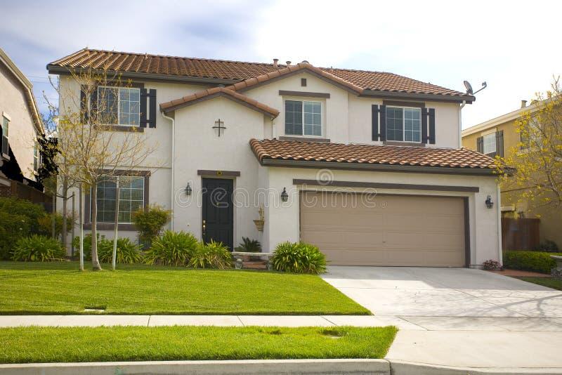 Het noordelijke Huis van Californië Subruban royalty-vrije stock afbeeldingen