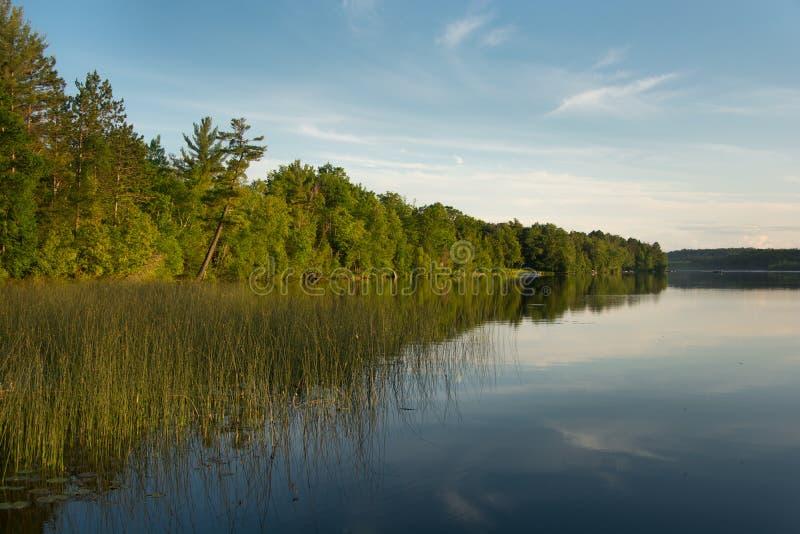 Het noordelijke Meer van Wisconsin royalty-vrije stock fotografie