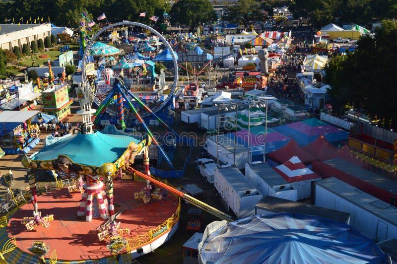 Het noorden Carolina State Fair royalty-vrije stock afbeelding