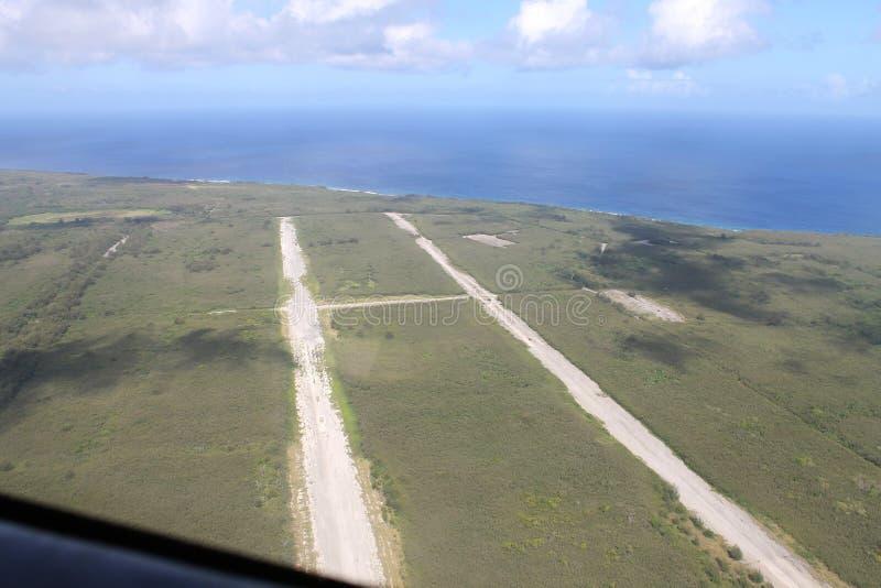 Het noordengebied Tinian stock foto's
