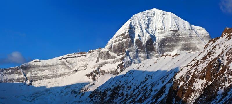 Het noordengezicht van Onderstel Kailash, Tibet royalty-vrije stock fotografie
