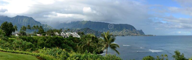 Het noordenkust - Kauai stock foto's
