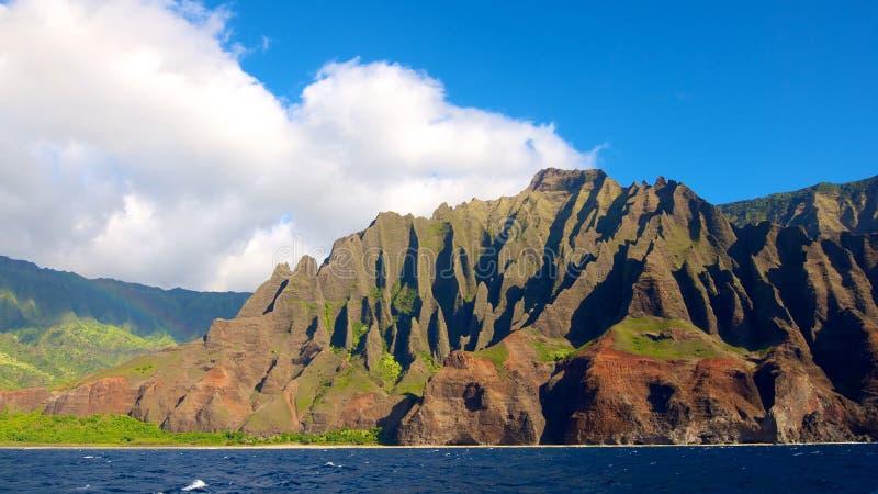 Het noordenkust Kauai stock afbeelding