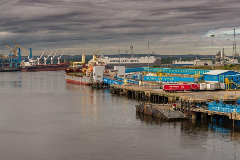 Het noordenschilden, de Tyne en Slijtage, Engeland, het UK royalty-vrije stock afbeeldingen