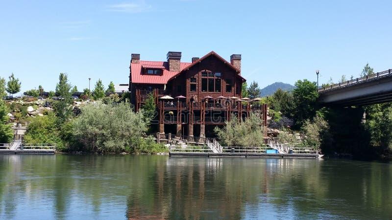 Het noordwestengrill van Oregon van de toelagenpas taprock royalty-vrije stock foto's