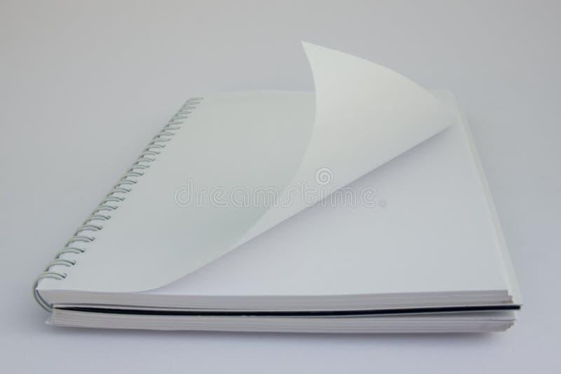 Het notitieboekje opent royalty-vrije stock foto's