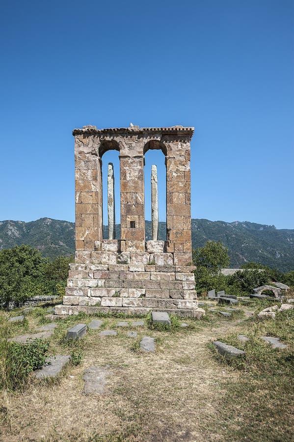 Het Odzun-Klooster Monument-grafsteen stock afbeelding