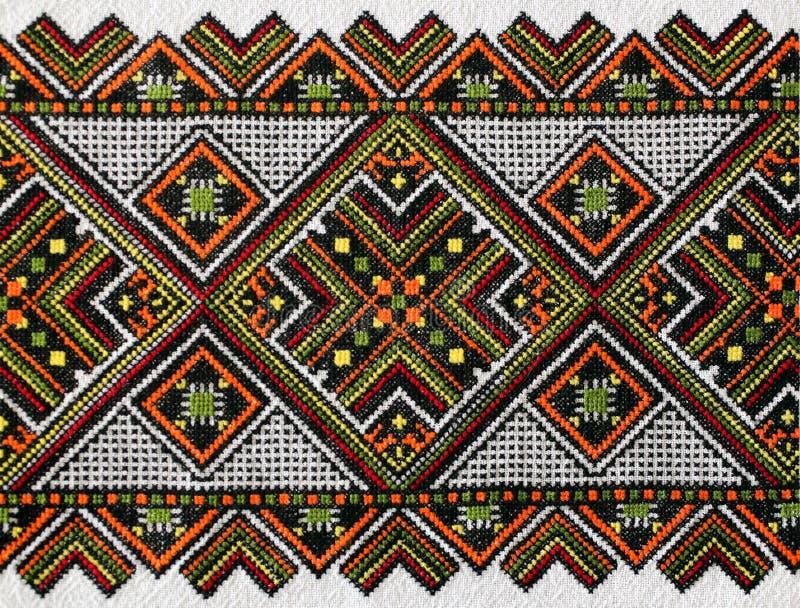 Het Oekraïense ornament royalty-vrije stock afbeeldingen