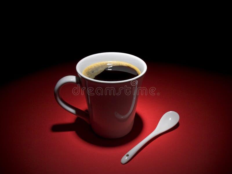 Het ogenblik van de koffie royalty-vrije stock fotografie