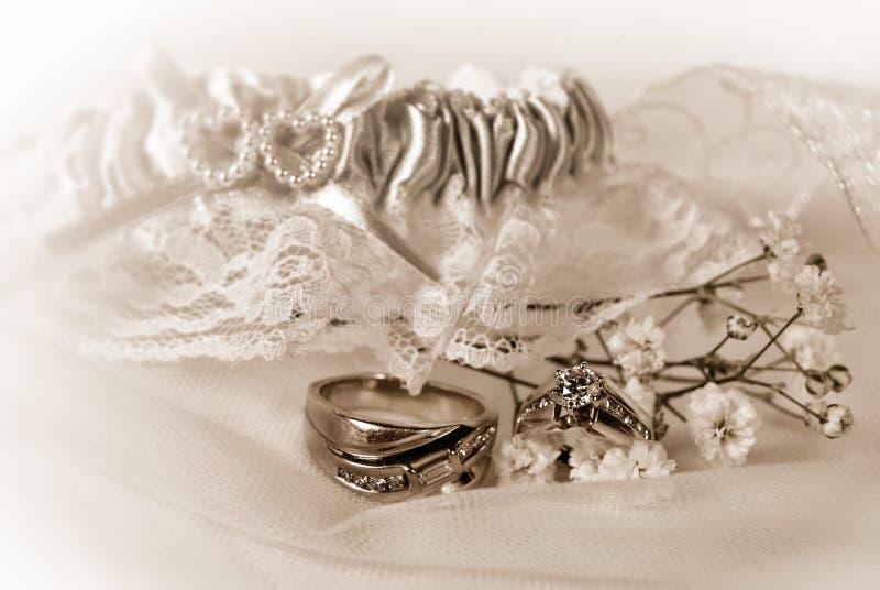 Het Ogenblik van het huwelijk stock fotografie