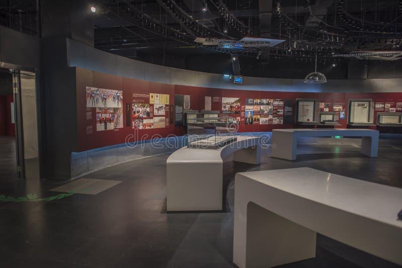 Het Olympische Museum van de Nanjingsjeugd royalty-vrije stock foto