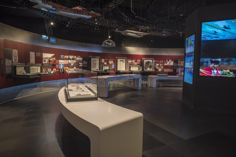 Het Olympische Museum van de Nanjingsjeugd stock afbeelding
