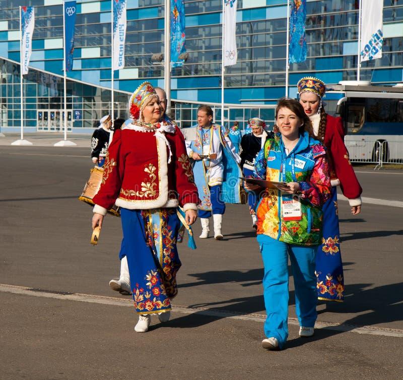 Het Olympische Park van Sotchi stock afbeeldingen