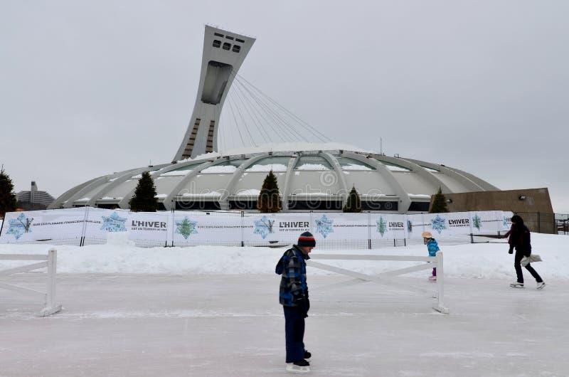 Het Olympische Stadion van Montreal royalty-vrije stock afbeeldingen
