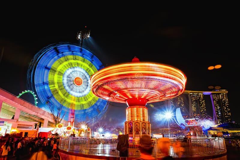 Het omcirkelen Lichten royalty-vrije stock afbeelding