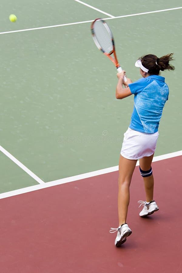 Het ondergeschikte Tennis van Dames royalty-vrije stock foto's