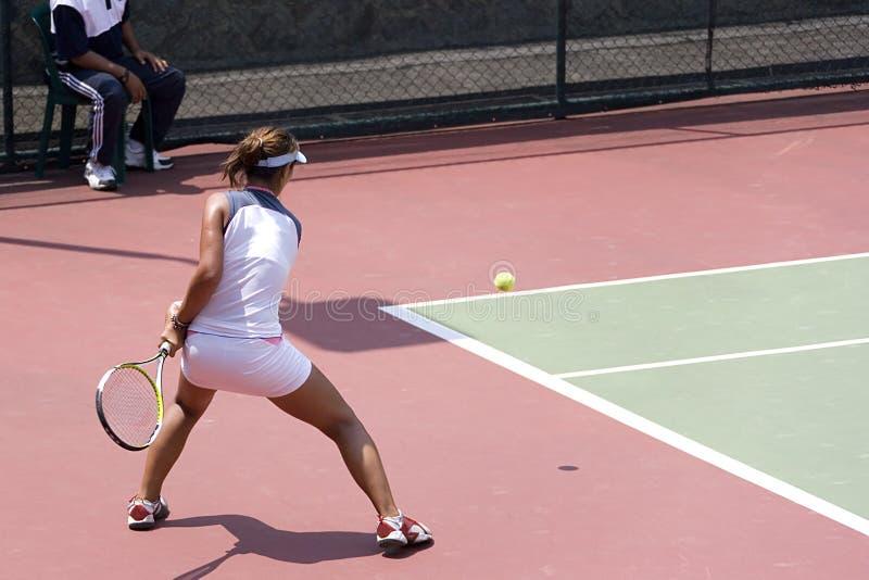 Het ondergeschikte Tennis van Dames royalty-vrije stock foto