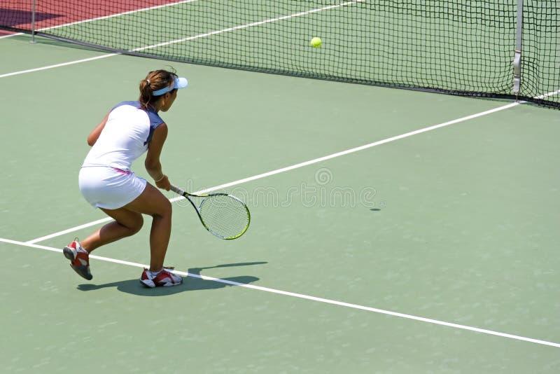 Het ondergeschikte Tennis van Dames royalty-vrije stock afbeeldingen