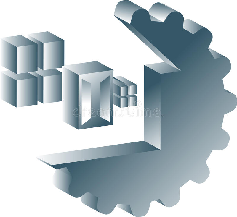 Het onderhoud van het huis vector illustratie