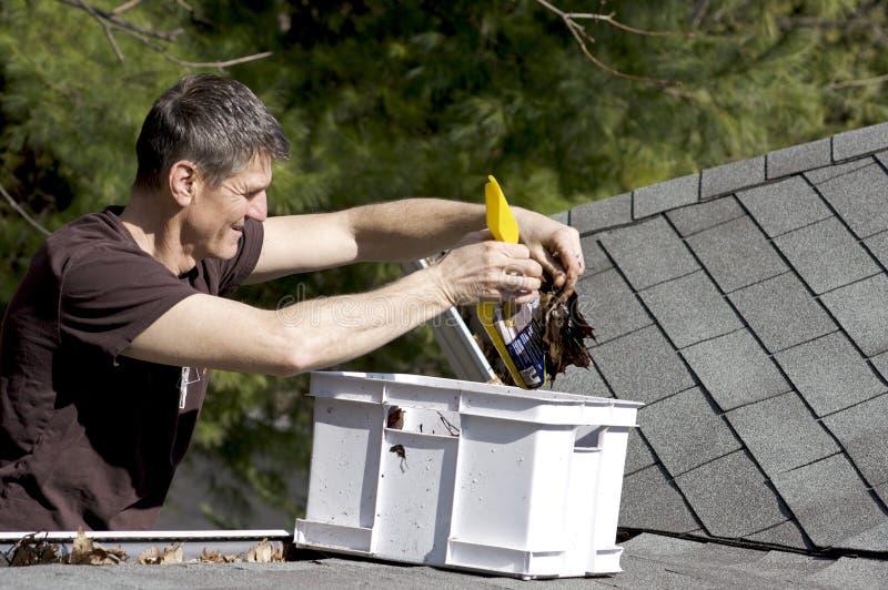 Het Onderhoud van het huis - buiten stock afbeelding