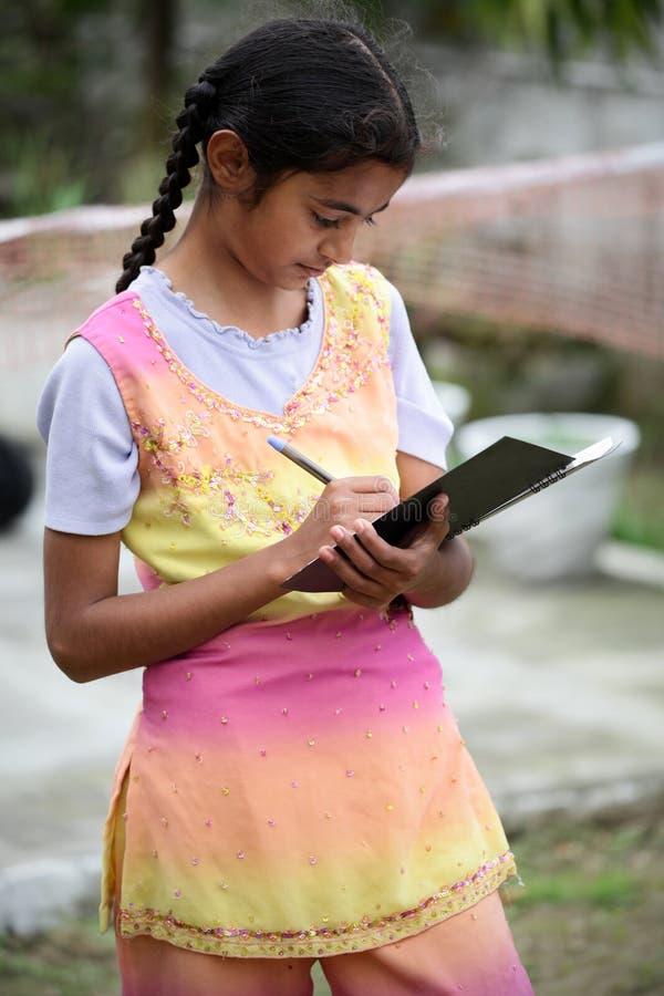 Het onderwijs van het meisje royalty-vrije stock foto