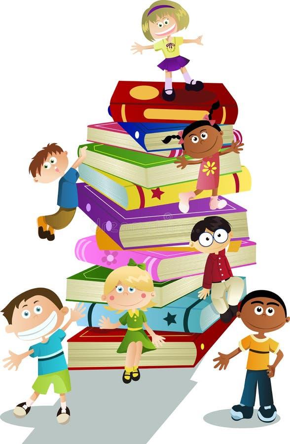 Het onderwijs van kinderen royalty-vrije illustratie