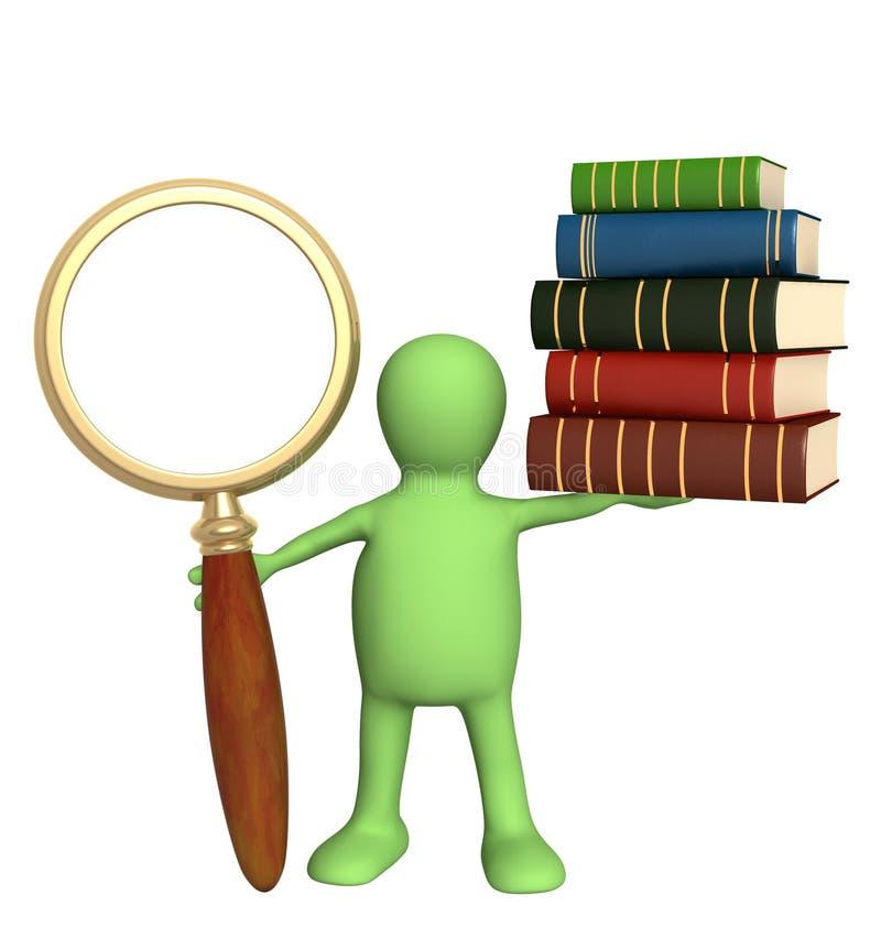 Het onderzoek van de informatie royalty-vrije illustratie