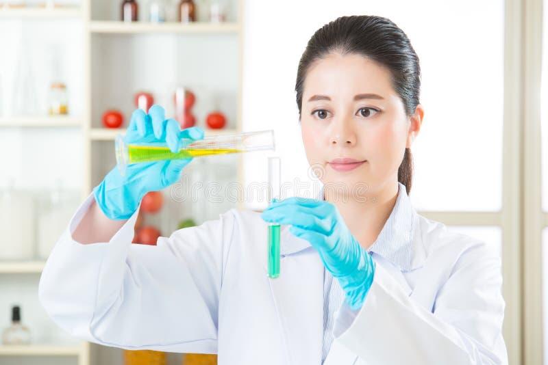Het onderzoek van het genetische modificatievoedsel zal de aanwijzing vinden royalty-vrije stock foto's