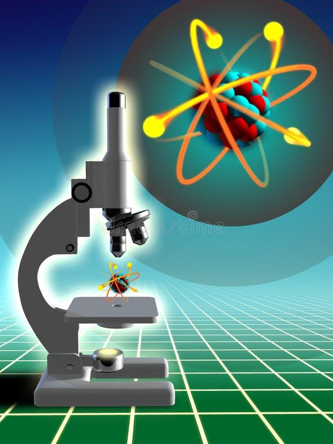 Het onderzoek van het laboratorium royalty-vrije illustratie
