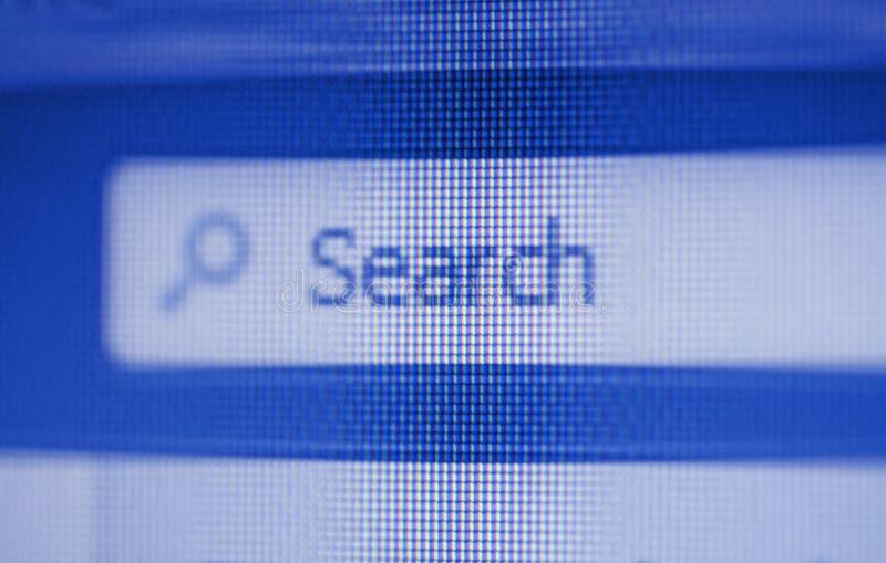 Het Onderzoek van Internet royalty-vrije stock foto's