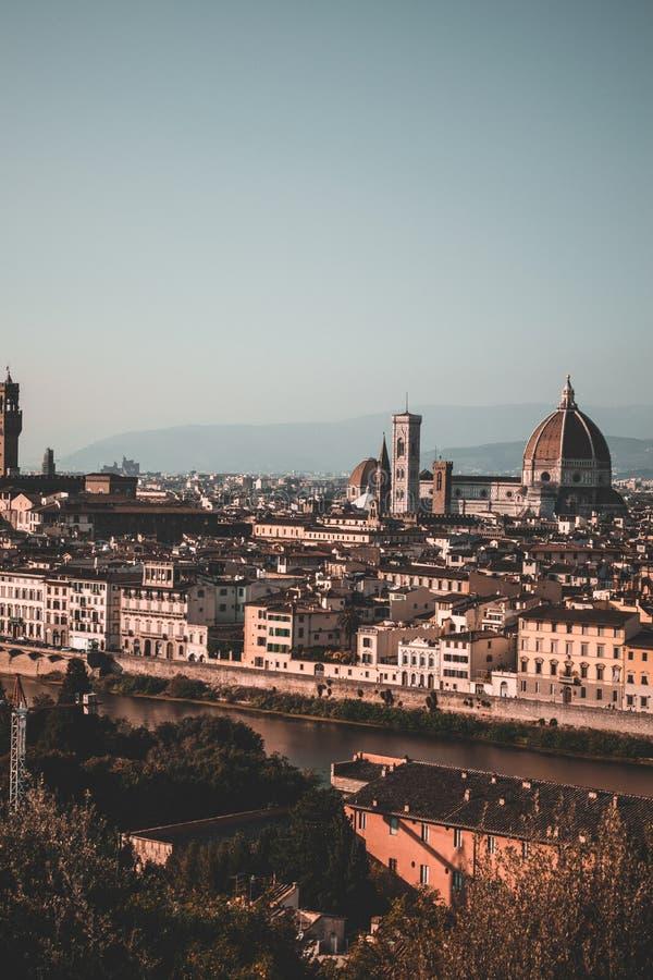 Het onderzoeken van de stad van Florence Italië stock fotografie