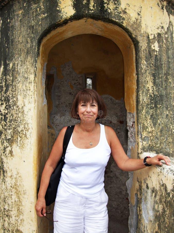 Het onderzoeken van het Fort stock afbeeldingen