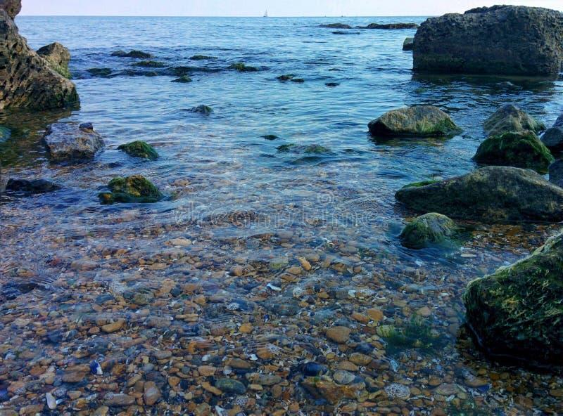 Het ondiepe water royalty-vrije stock foto's