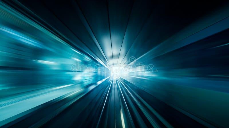 Het onduidelijke beeld abstracte achtergrond van de snelheidsmotie stock foto's