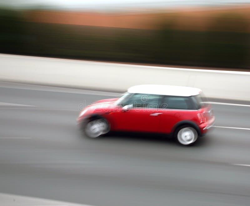 Het onduidelijke beeld van de auto royalty-vrije stock fotografie