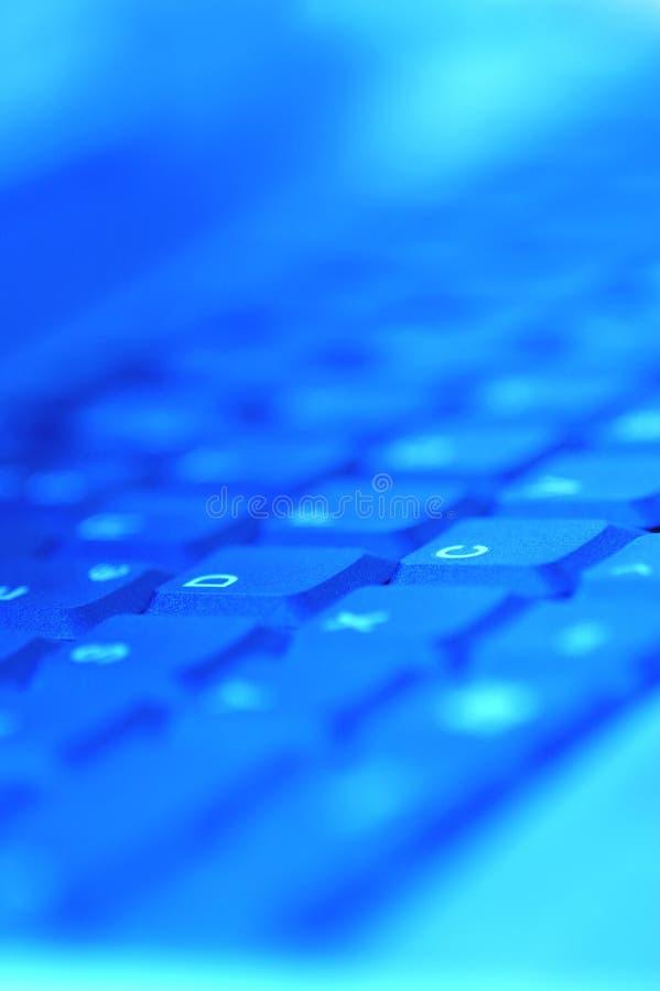 Het onduidelijke beeld van het toetsenbord royalty-vrije stock foto's