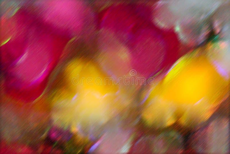 Het onduidelijke beeldachtergrond van de bloem royalty-vrije stock foto