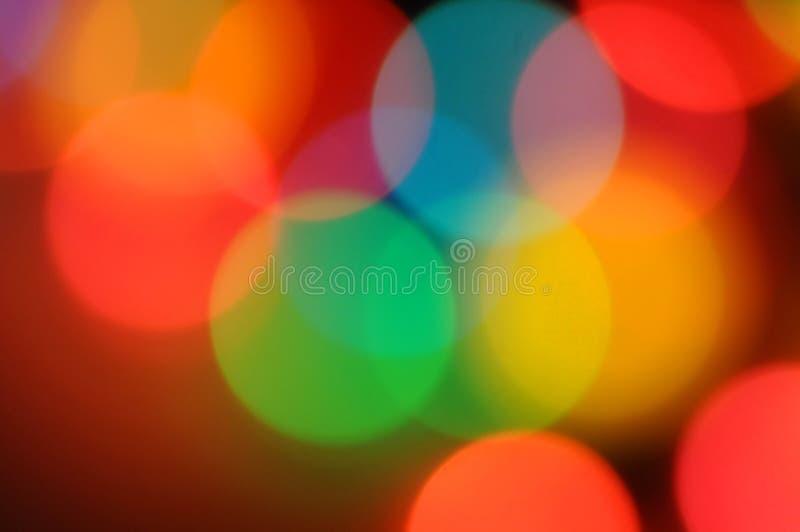 Het onduidelijke beeldachtergrond van Kerstmis stock foto