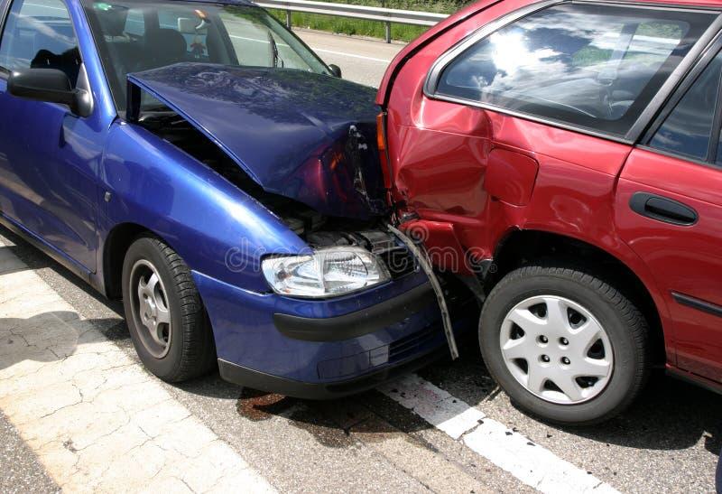 Het ongeval van de auto
