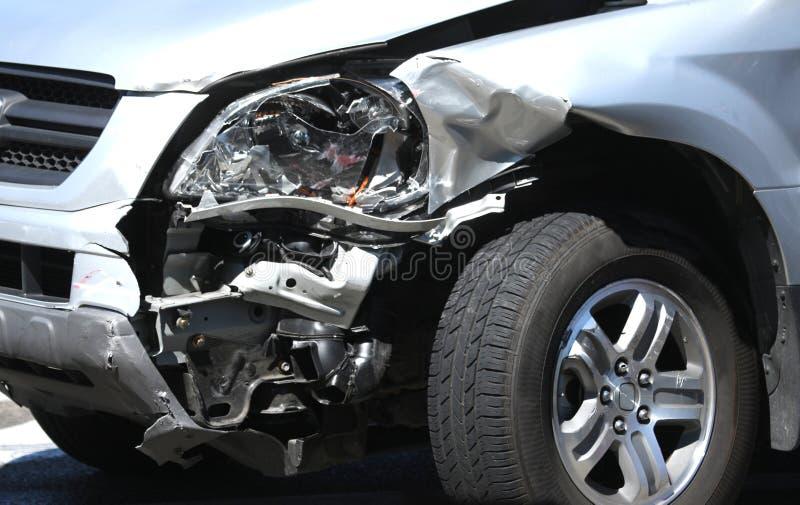 Het Ongeval van de auto stock foto