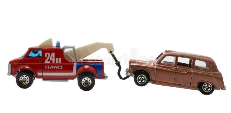 Het ongeval van de auto stock fotografie
