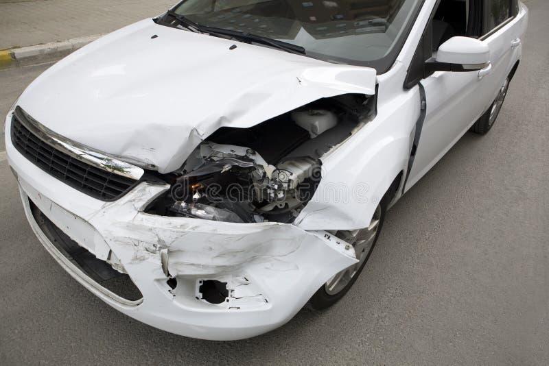 Het ongeval van het verkeer. royalty-vrije stock foto's