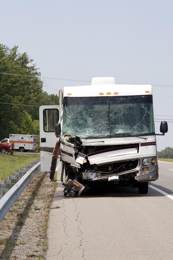 Het ongeval van het voertuig royalty-vrije stock afbeelding