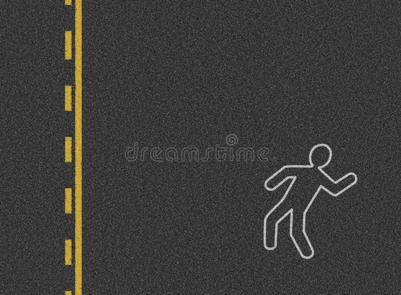 Het ongevallenachtergrond van de auto royalty-vrije stock foto