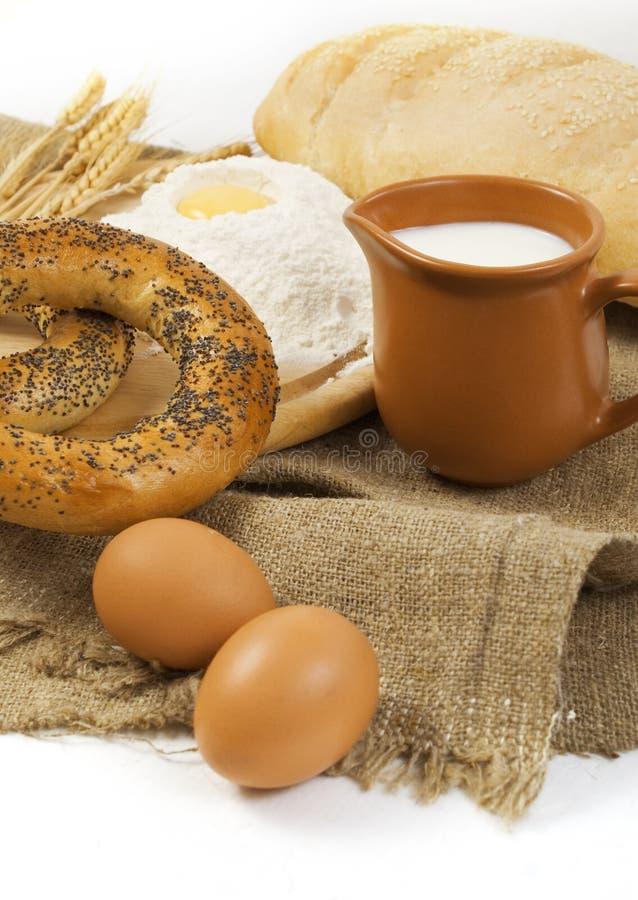 Het ontbijt van het land stock foto